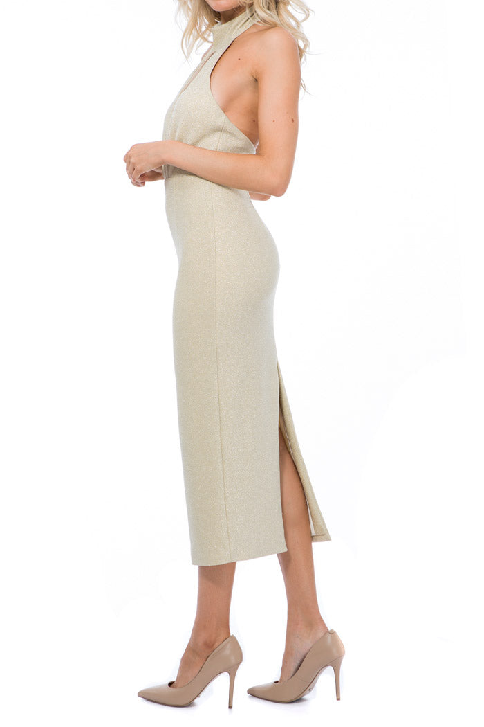 Georgy Collection Hera Dress Gold