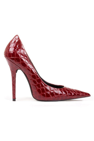 Jeffrey Campbell Ikon 2 Red Croco
