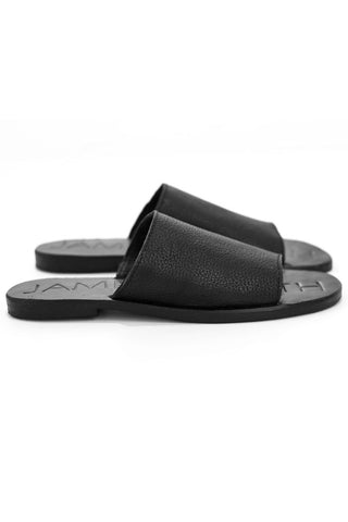 James Smith Sandals Off Duty Black-Black
