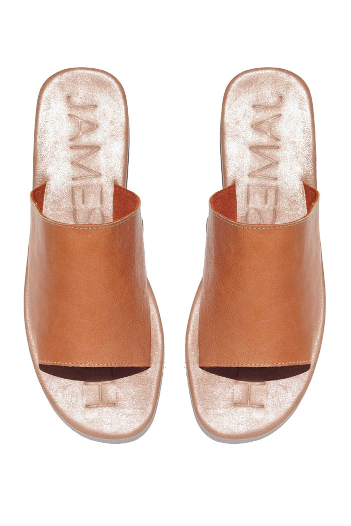 James Smith Sandals Off Duty Tan