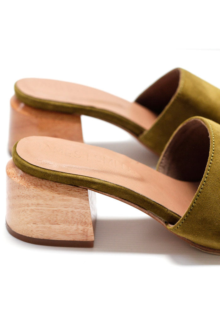 James Smith Sicily Slides Pistachio