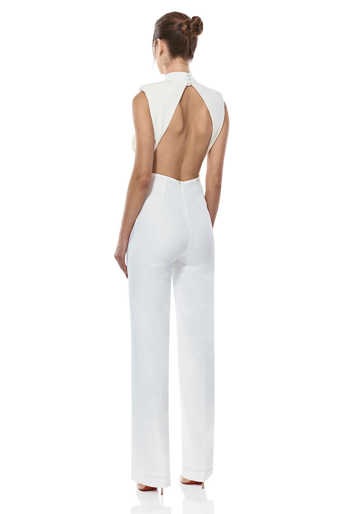 Misha Collection Justine Pantsuit Ivory