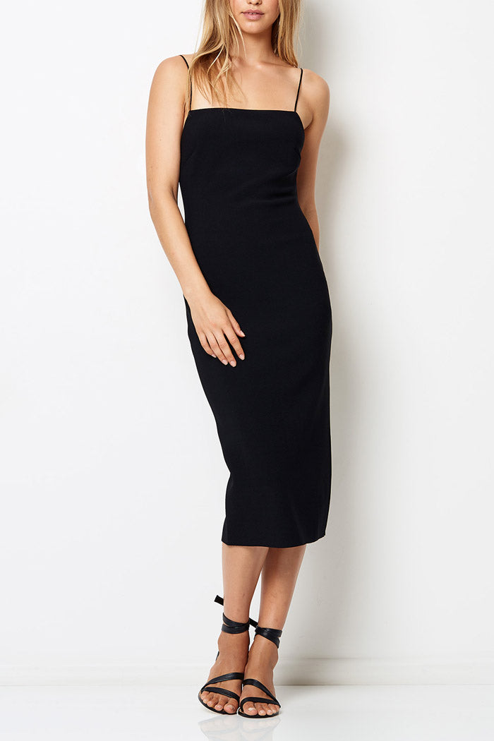 Bec and Bridge Lila Midi Dress Black