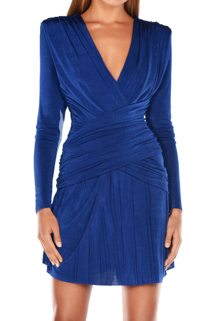 Misha Collection Kahlia Mini Dress Cobalt Blue