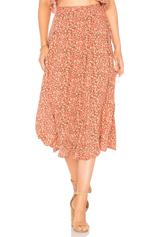 Faithfull Marieta Skirt Blossom Village Print