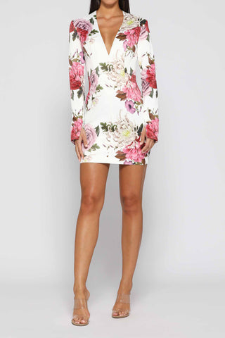 Elle Zeitoune Megan Dress Floral