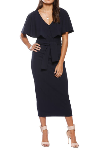 Pasduchas Mrs Carter Midi Navy