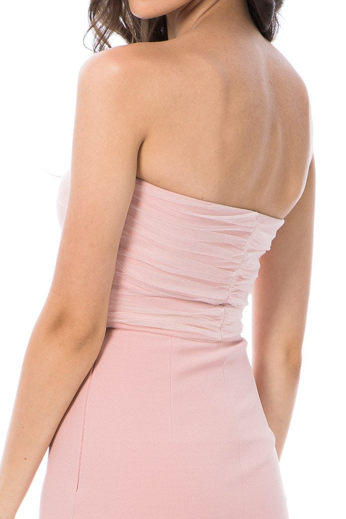 Georgy Collection Nicolette Dress Pink