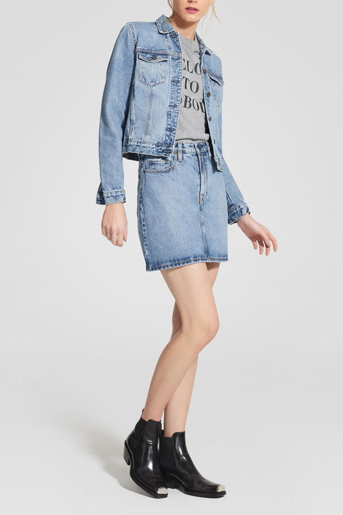 Nobody Denim Piper Skirt Forever