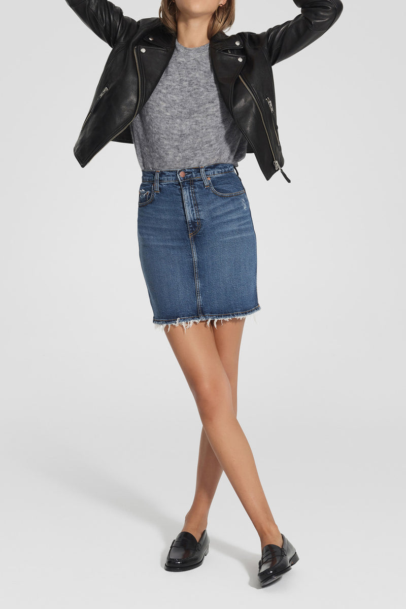 Nobody Denim Siren Skirt Comfort