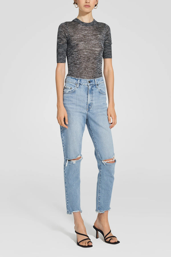 Nobody Denim Frankie Jean Ankle Stretch Serene