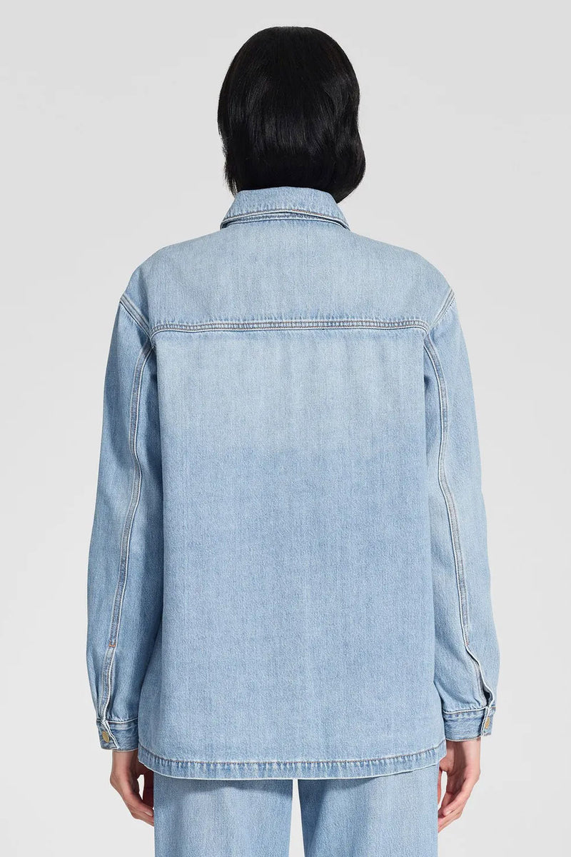 Nobody Denim Archer Shirt Jacket Celestial