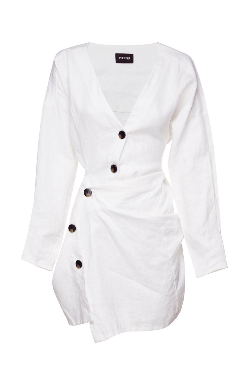 Pfeiffer Lovers Linen Twist Dress