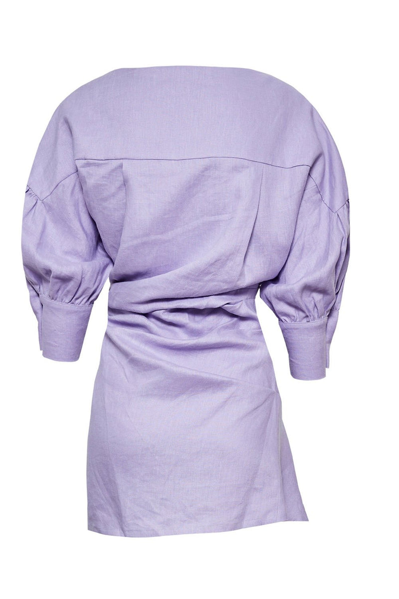 Pfeiffer Seeka Linen Dress Lilac
