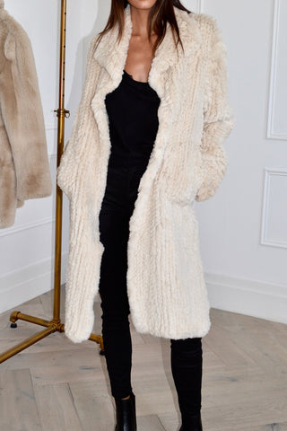 Elle Long Fur Coat