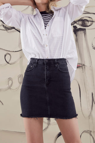 Nobody Denim Siren Skirt Comfort Random
