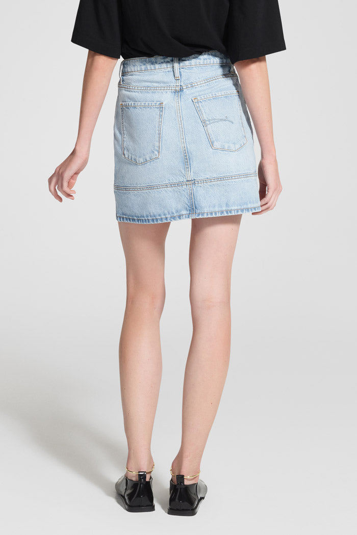 Nobody Denim Seam Skirt Statement