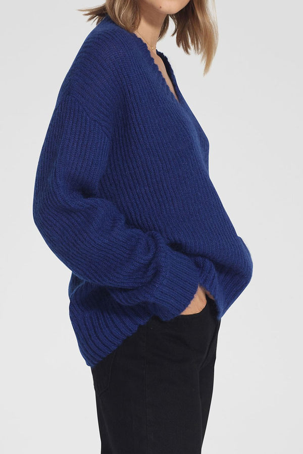 Nobody Denim Soho Knit Yves Blue