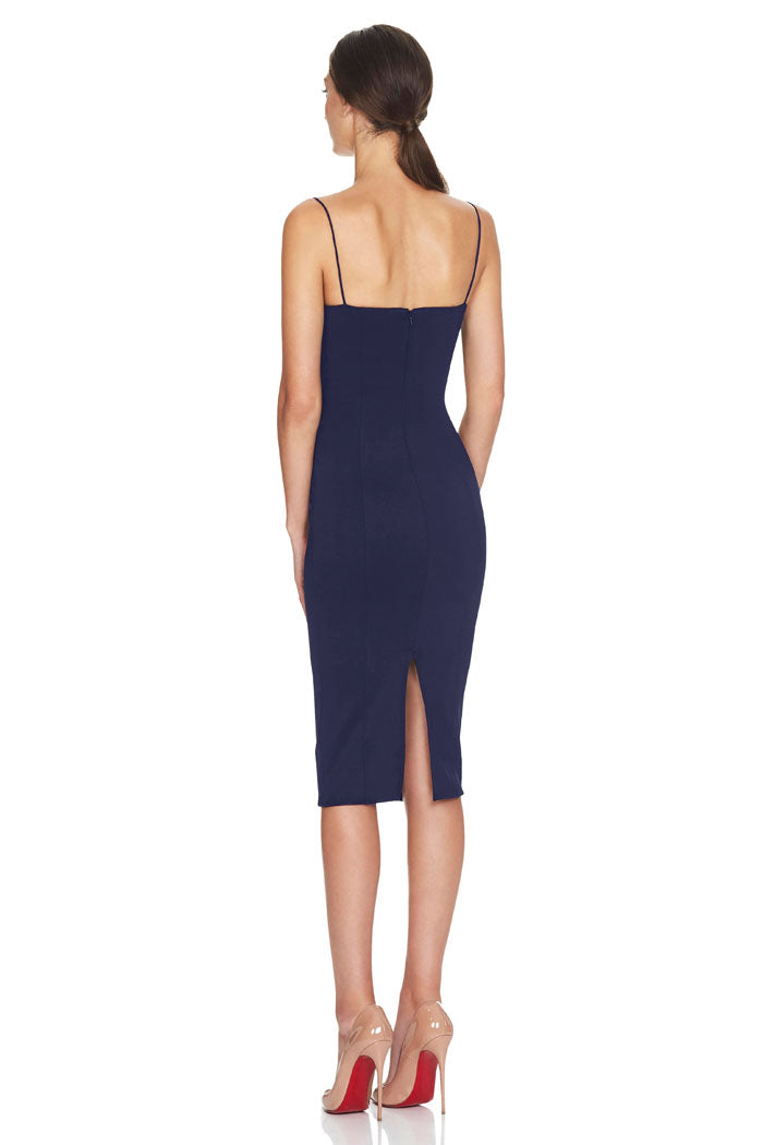 Misha Collection Sophie Dress Navy