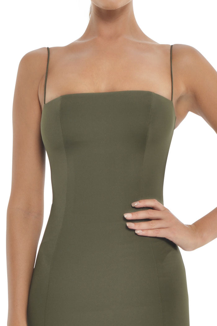 Misha Collection Sophie Dress Khaki