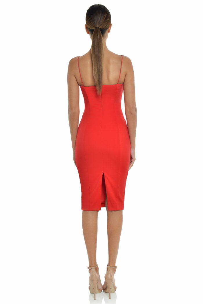 Misha Collection Sophie Dress Red