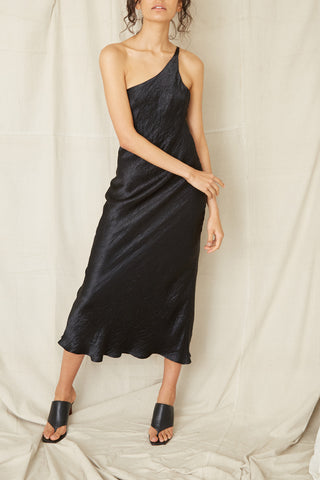 Third Form Waters Edge One Shoulder Maxi Dress