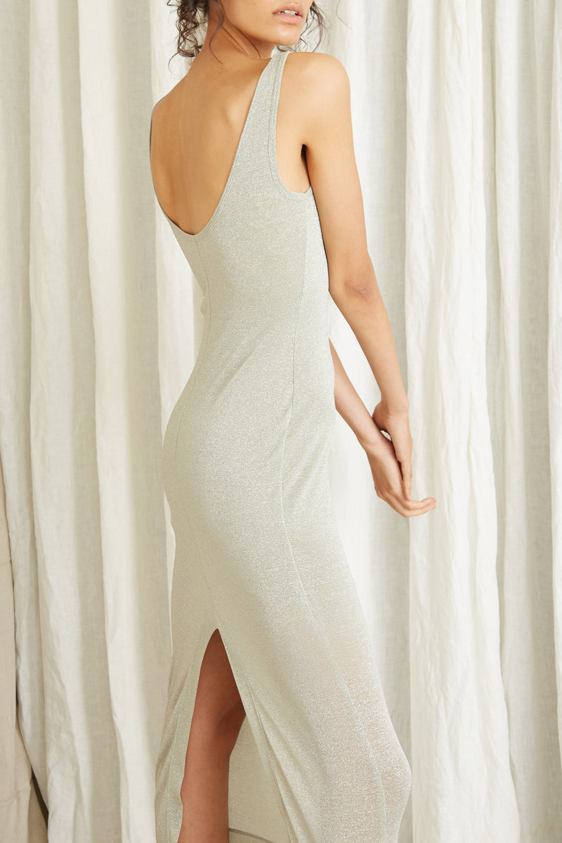 Third Form Star Dust Scooped Tank Dress