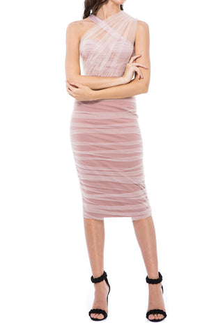 Georgy Collection Valerie Dress Pink