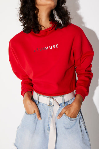 Winter Muse Montana Jumper Red