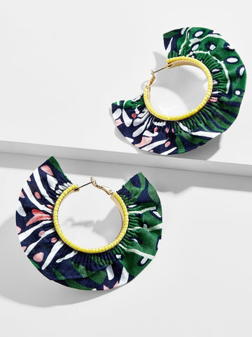Baublebar MOJITO HOOP EARRINGS