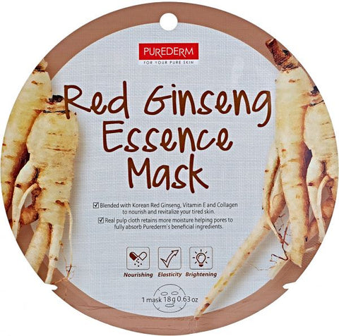 Purederm Circle Mask Red Ginseng Essence