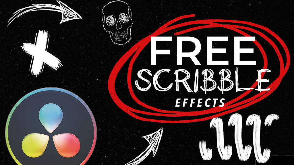 How to Use our Free Scribble Animation Video Effects in DaVinci Resolve