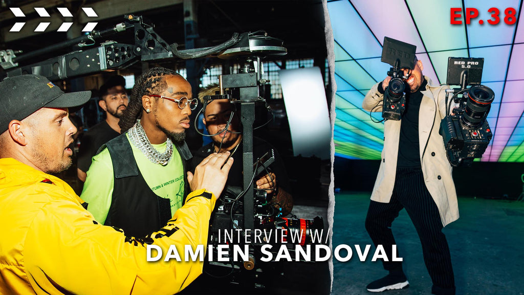Damien Sandoval on filming with Tyga, Wiz Kalifa and Riveting Entertainment | Ep.38