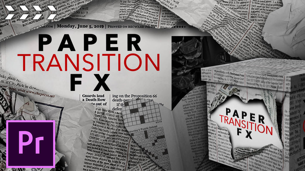 Paper Transition FX (Tutorial)