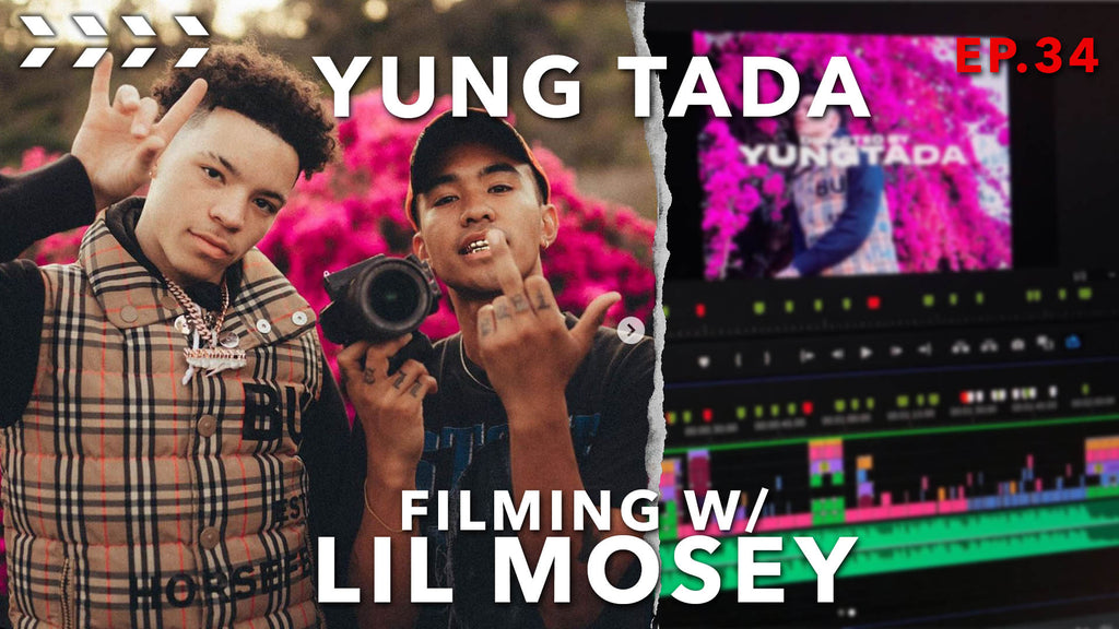 YUNGTADA on filming Lil Mosey's first music video | Ep.34