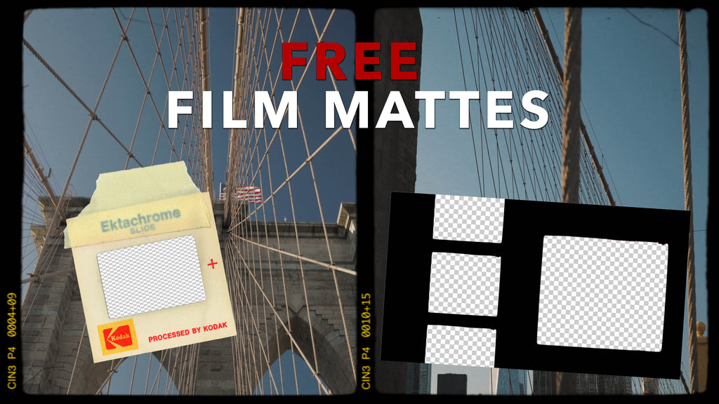 Get Film Overlays and Other Cool Video Effects for FREE with the Film Matte FX Sample Pack