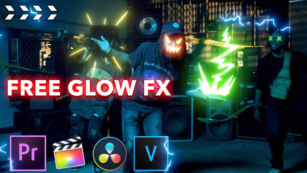 Find Easy-to-Use Glow Animation Video Effects for FREE from CinePacks
