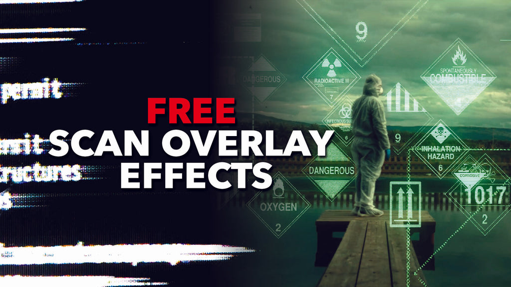 Download Authentic Vintage Scan Overlay Video Effects for FREE