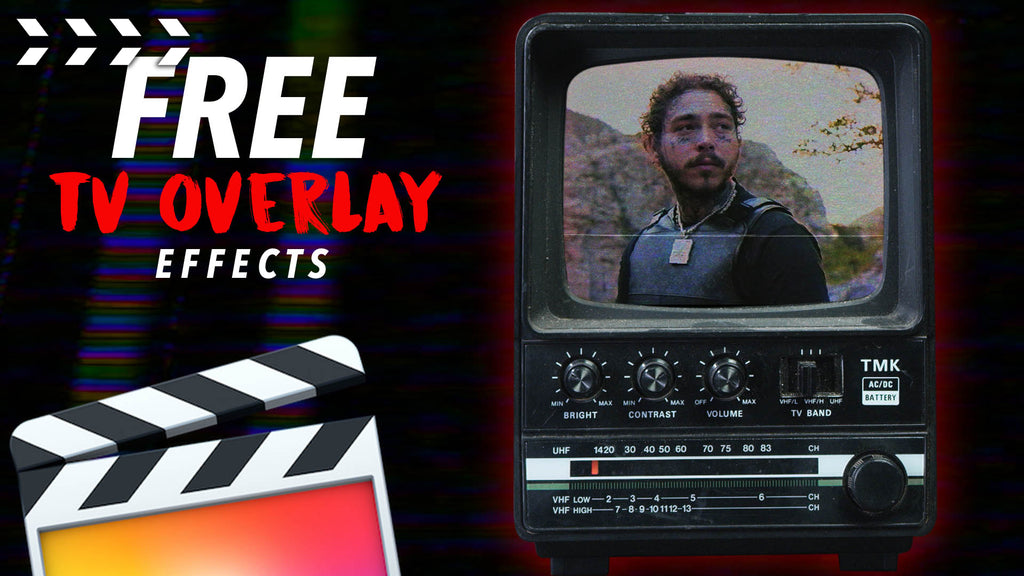 How to Get a FREE Pack of TV Overlay Video Effects in Final Cut