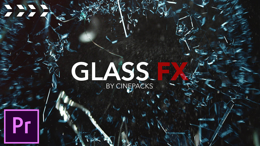 Use CinePacks Glass FX to Shock & Awe Your Audience with Impressive Glass Breaking Video Effects