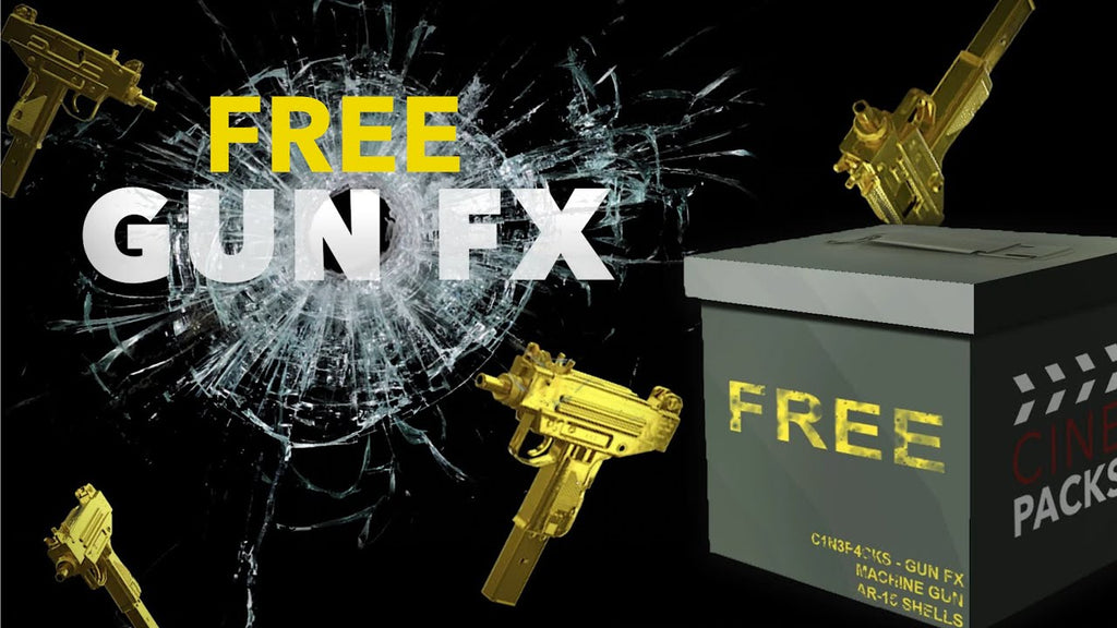 Get the FREE Pack of Gun FX to Create Awesome Video Effects in Adobe Premiere Pro