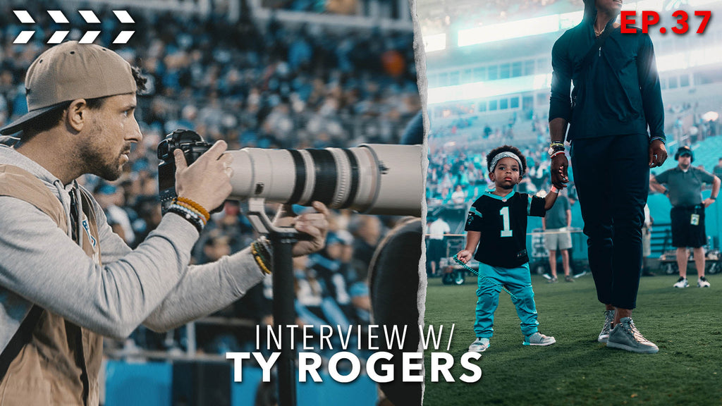 Ty Rogers films for Adidas, ESPN+, NFL Films, and LeBron James | Ep.37