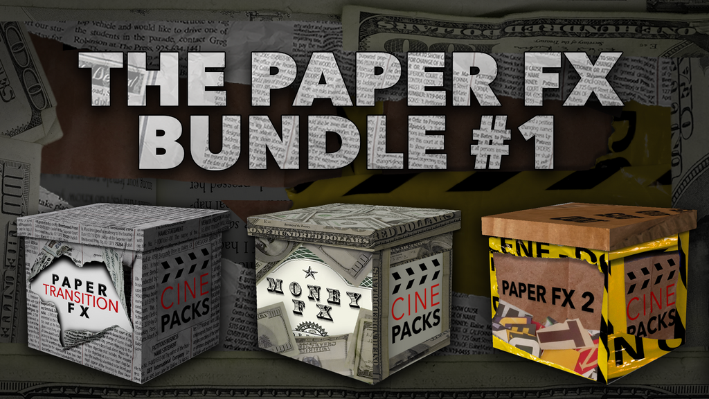 The Paper FX Bundle #1 - CinePacks