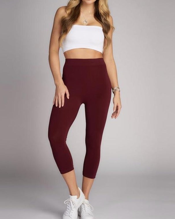 Bamboo 3/4 Length Legging