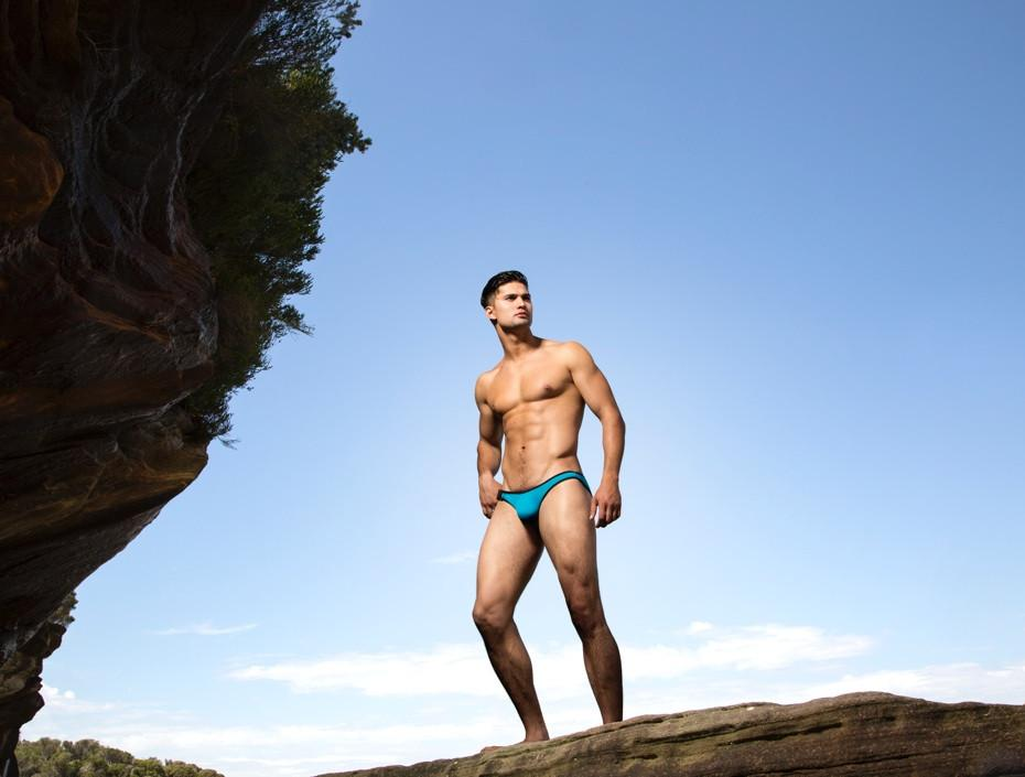 CX02NP Neoprene Swim Brief
