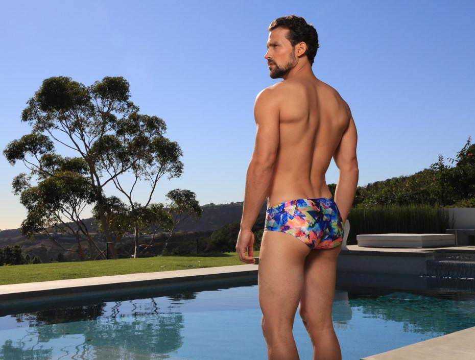 CX79PR Boy Leg Swim Brief