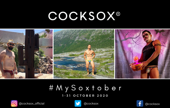 Promotional image for the 2020 #MySoxtober social medial contest