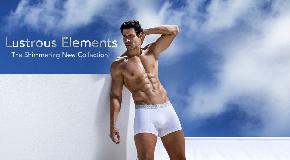 Introducing Lustrous Elements - our shimmering new underwear collection
