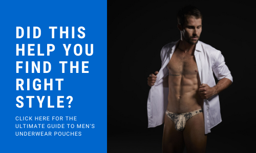 Link to the How Men's Support Underwear Keeps Your Package Sitting Right feature article by Cocksox