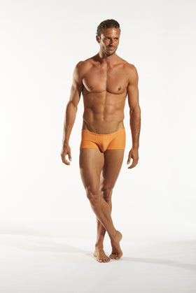 Cocksox CX08 Swimwear Trunk in Sweet Orange full body image